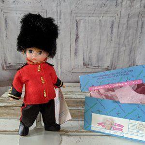 Madame Alexander English guard 515 doll vintage